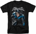 Nightwing t-shirt A Legacy mens black