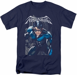 Nightwing t-shirt A Legacy mens navy