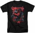 Nightwing t-shirt Lightwing mens black