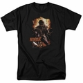 Ninjak t-shirt Fiery Ninjak mens black