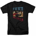 Ninjak t-shirt Panel mens black