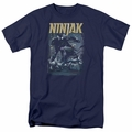 Ninjak t-shirt Rainy Night Ninjak mens navy