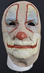 Old Clown Face Mask