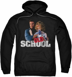 Old School pull-over hoodie Frank And Friend adult black