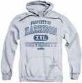 Old School pull-over hoodie Property Of Harrison adult athletic heather