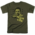 Old School t-shirt Frank The Tank mens military green