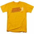 Old School t-shirt Streaking mens gold