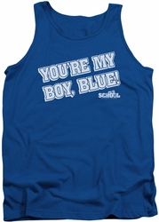 Old School tank top My Boy Blue mens royal
