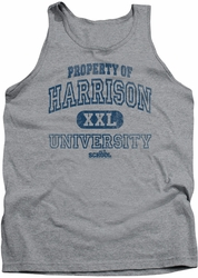 Old School tank top Property Of Harrison mens heather