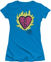 One Tree Hill juniors t-shirt C Over B 2 turquoise
