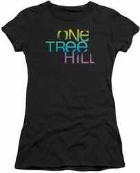 One Tree Hill juniors t-shirt Color Blend Logo black