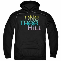 One Tree Hill pull-over hoodie Color Blend Logo adult black