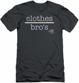One Tree Hill slim-fit t-shirt Clothes Over Bros 2 mens charcoal