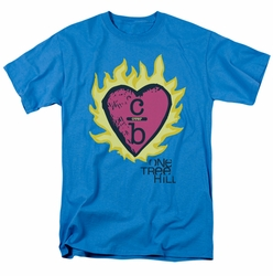 One Tree Hill t-shirt C Over B 2 mens turquoise