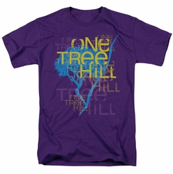 One Tree Hill t-shirt Title mens purple