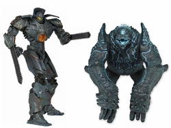 Pacific Rim Battle Damage Gypsy Danger Vs. Leatherback 7-inch action figure 2-Pack
