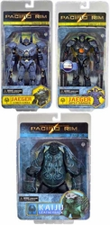 Pacific Rim Series 2 action figures Set of 3