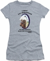 Parks & Rec juniors t-shirt Li'l Sebastian Little heather