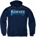 Parks & Rec pull-over hoodie Pawnee adult navy