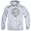 Parks & Rec pull-over hoodie Pawnee Seal adult athletic heather