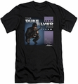 Parks & Rec slim-fit t-shirt Album Cover mens black