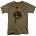 Parks & Rec t-shirt To The Hunt mens safari green