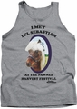 Parks & Rec tank top Li'L Sebastian mens heather