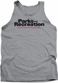 Parks & Rec tank top Logo mens heather