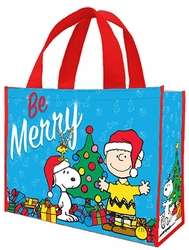 Peanuts Holiday Large Shopper Tote