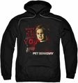 Pet Sematary pull-over hoodie I Want To Play adult black