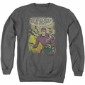 Phantom adult crewneck sweatshirt Blunt charcoal