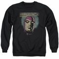 Phantom adult crewneck sweatshirt Evildoers Beware black