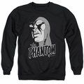 Phantom adult crewneck sweatshirt Inked black