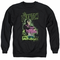 Phantom adult crewneck sweatshirt Jungle Protector black