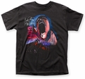 Pink Floyd Hammer March with Face adult tee black mens pre-order