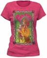 Pink Floyd marquee poster women's tee women fuchsia pre-order