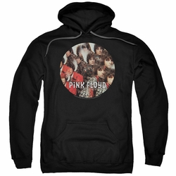 Pink Floyd pull-over hoodie Piper adult Black