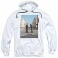 Pink Floyd pull-over hoodie Wish You Were Here adult White