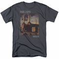 Pink Floyd t-shirt Faded Animals mens Charcoal