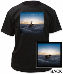 Pink Floyd the endless river adult tee black t-shirt pre-order