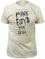 Pink Floyd the wall fitted jersey tee vintage white