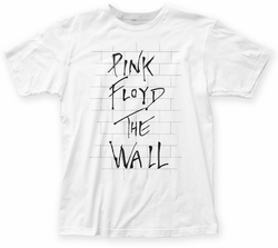Pink Floyd The Wall fitted jersey tee white mens pre-order