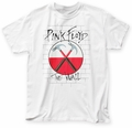 Pink Floyd The Wall Hammers adult tee white mens pre-order