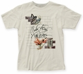 Pink Floyd Wife & Teacher fitted jersey tee vintage white mens pre-order