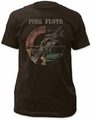 Pink Floyd wish you were here (distressed) fitted jersey tee coal pre-order