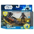 Pirate Speeder Bike with Cad Bane Star Wars vehicle figure set