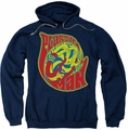 Plastic Man pull-over hoodie How I Roll adult navy