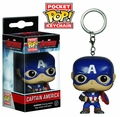 Pocket Pop Avengers Age of Ultron : Captain America Vinyl Figure Keychain