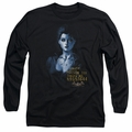 Poison Ivy adult long-sleeved shirt Arkham Asylum black