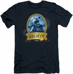 Polar Express slim-fit t-shirt True Believer mens navy